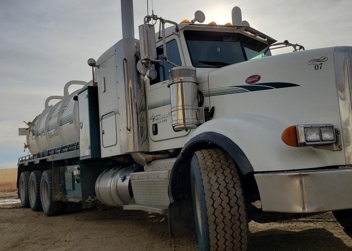 oil field vac truck